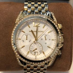 MICHAEL KORS Mid-Size Gold Stainless Steel Watch